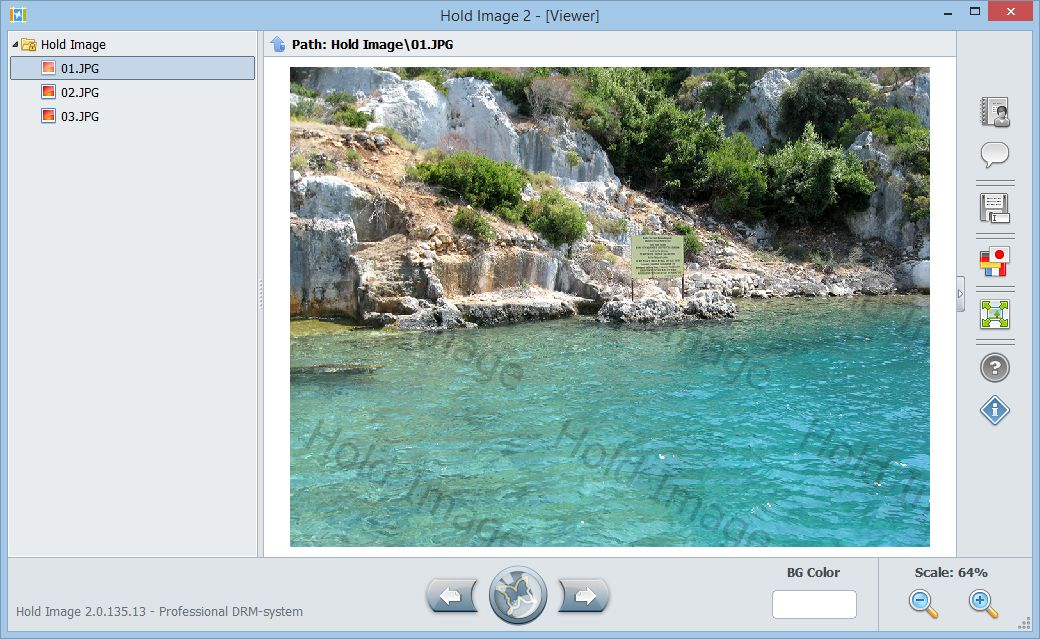 Hold Image Viewer